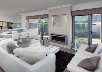 Vision decor interior sliding glass doors