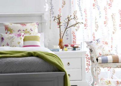 Maurics Kain floral curtains