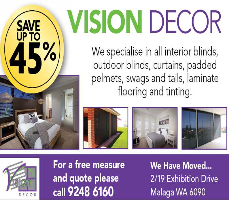 Vision Decor specials