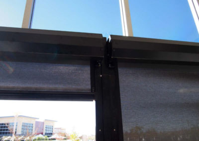 black Ziptrak blinds