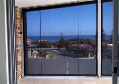 sheer outdoor blinds
