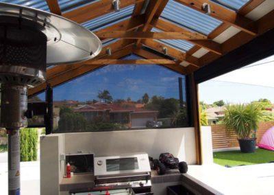ziptrak blinds under patio